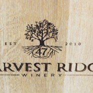 Harvest Ridge Logo on Barrel